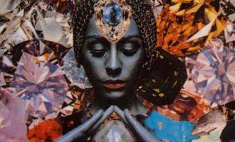 crystals-woman